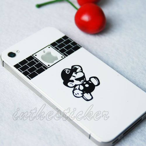 Mary games iphone decals iphone stickers iphone cover skins vinyl decal for apple iphone uniboday