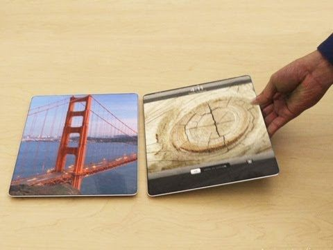 Interesting, but physically impossible iPad concept.