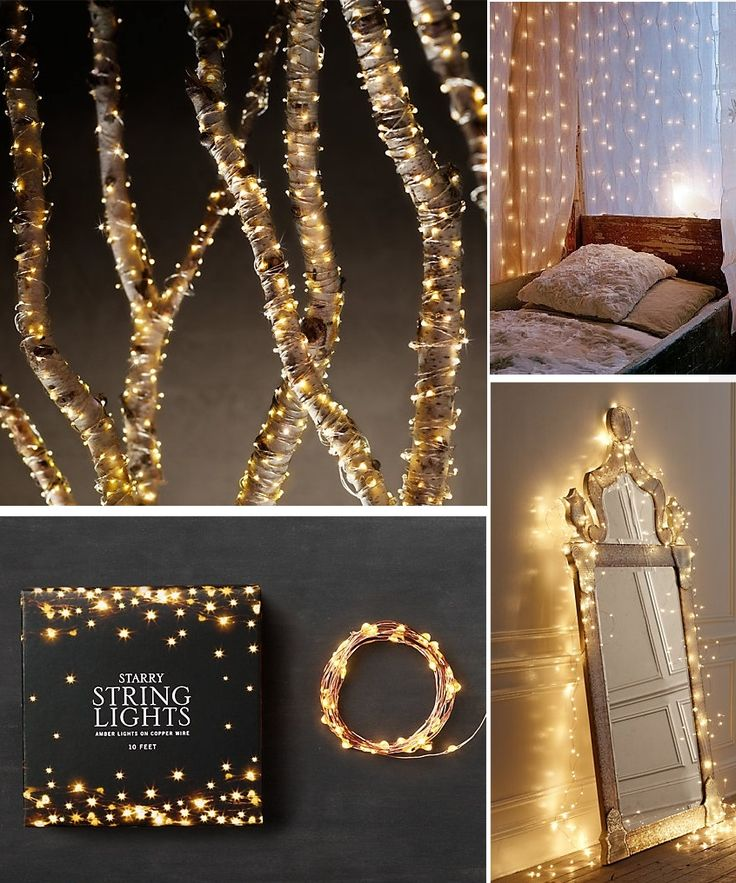 Restoration Hardware Starry String Lights Copper : 25+ best ideas about Starry String Lights on Pinterest Copper wire lights, Christmas lights in ...