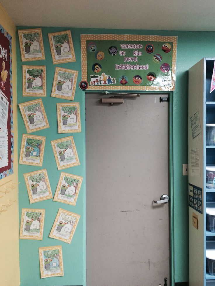 Classroom Welcome Ideas ~ Best images about my sesame street theme classroom on