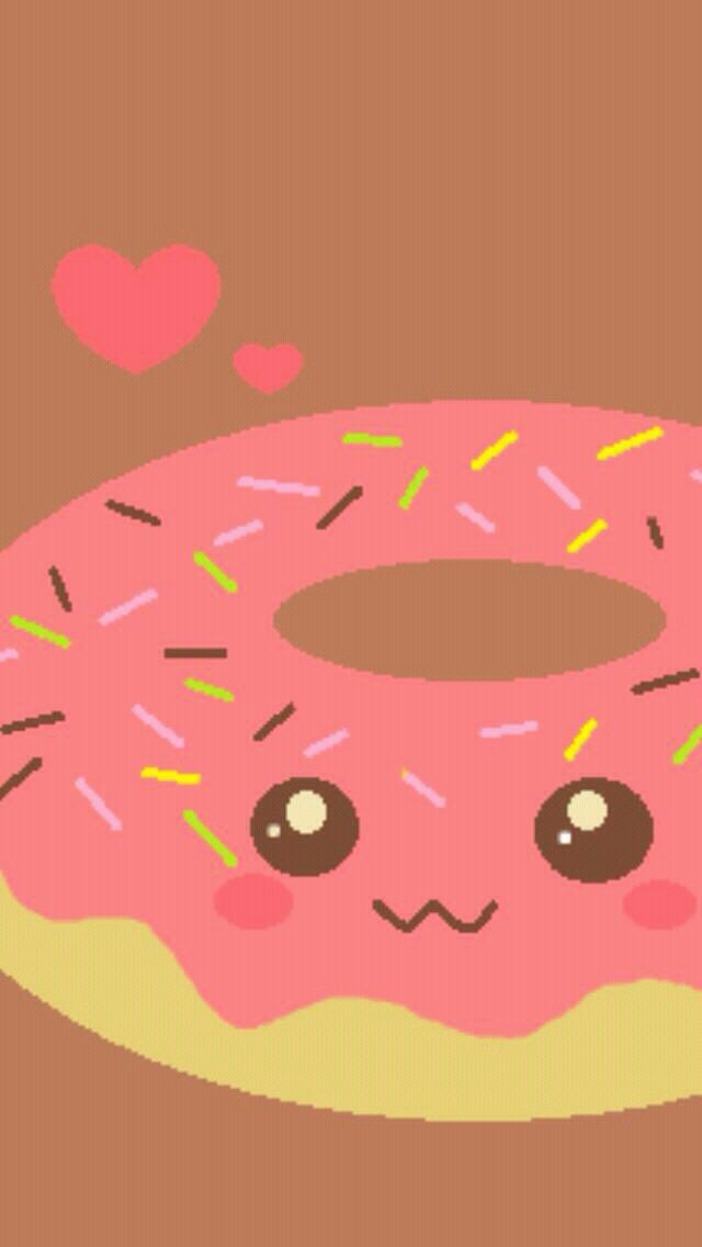 Donut wallpaper Walle