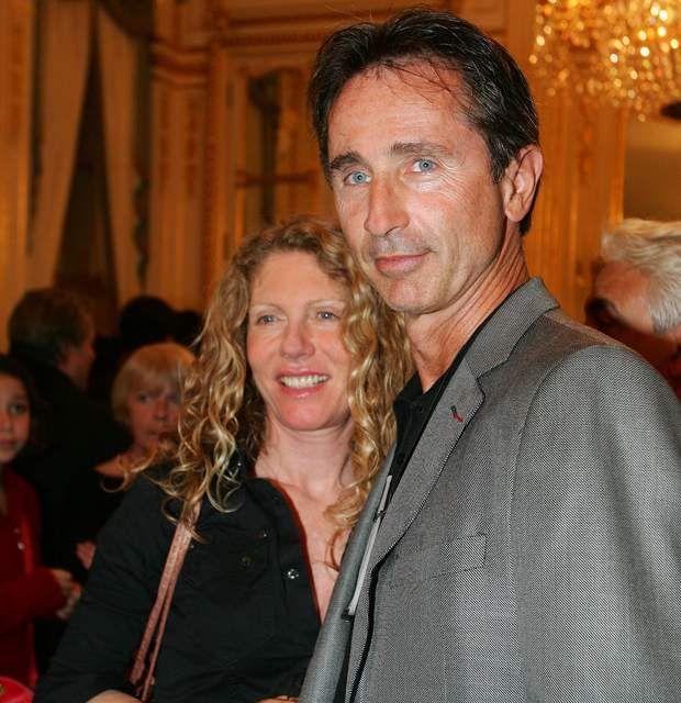 Thierry Lhermitte et sa femme Hélène...,