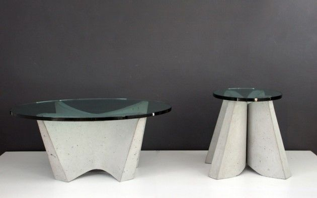 Sultanas Tables by Jorge Diego Etienne: Concrete Inspiration, Side Tables, Tables Design, Jorge Diego, Sultana Tables, Diego Etienne, Unique Tables, Furniture, Inspiration Products