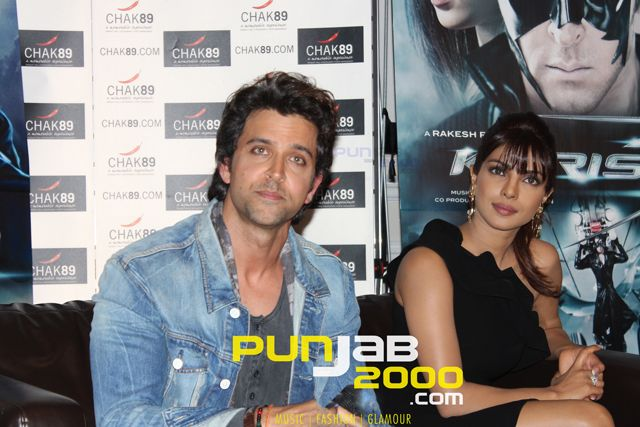 Krrish hit the London city with his lady - Jassi sits down with Hrithik Roshan and Priyanka Chopra in London for Krrish 3 film promotions.