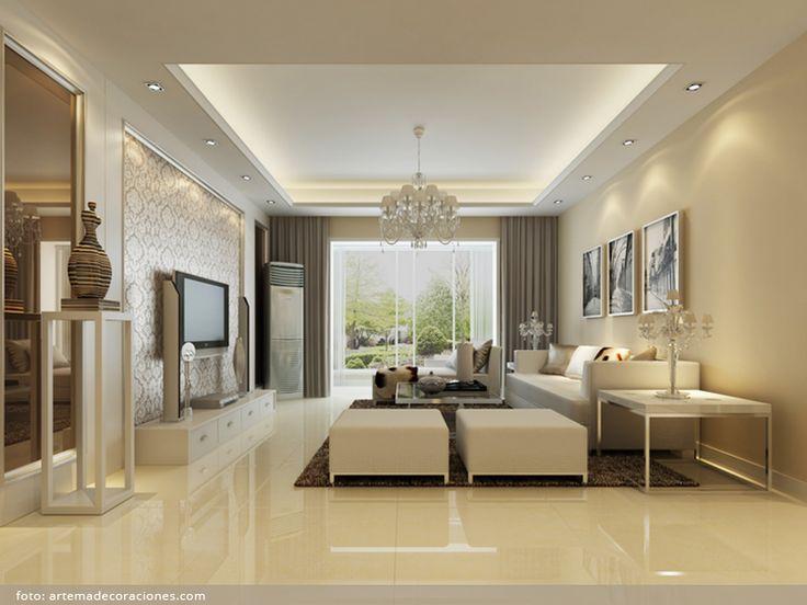 Obývací pokoj dle principu feng-šuej