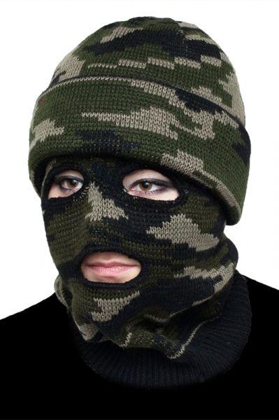 Тактическая маска камуфляж-600 руб.