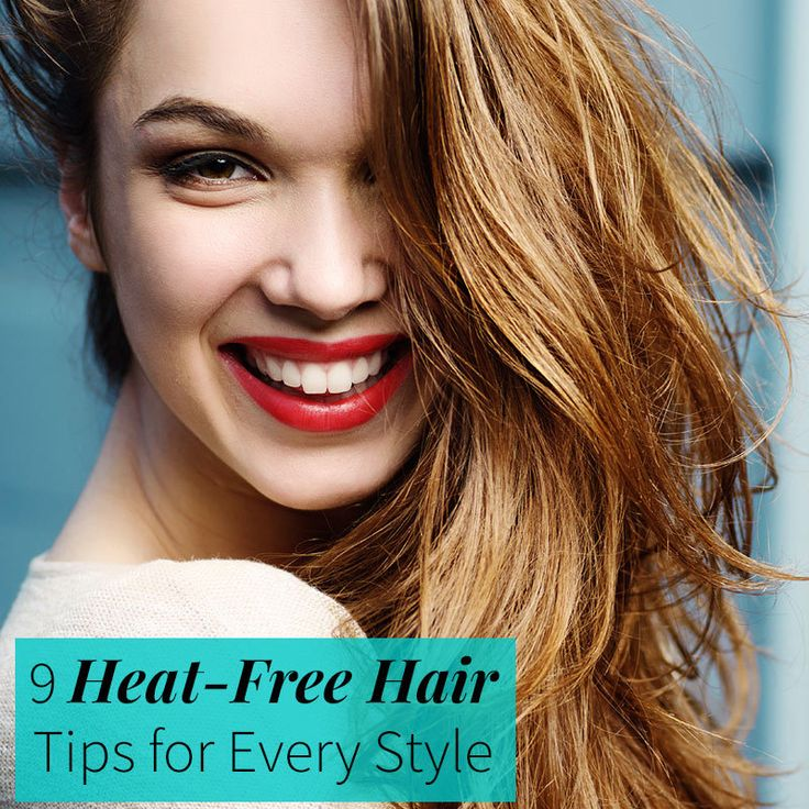It's hot enough outside, you don't need to add more to your hair.  These heat free hair tips will keep you looking good, no matter the temperature outside.