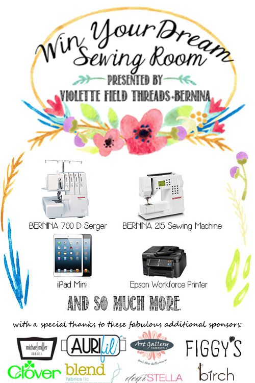 """""""Win Your Dream Sewing Room"""" Giveaway Has Officially Begun!"""