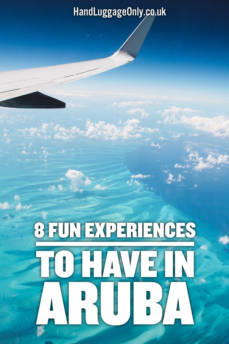 8 Fun Experiences You Need To Have In The Caribbean Island Of Aruba - Hand Luggage Only - Travel, Food & Photography Blog