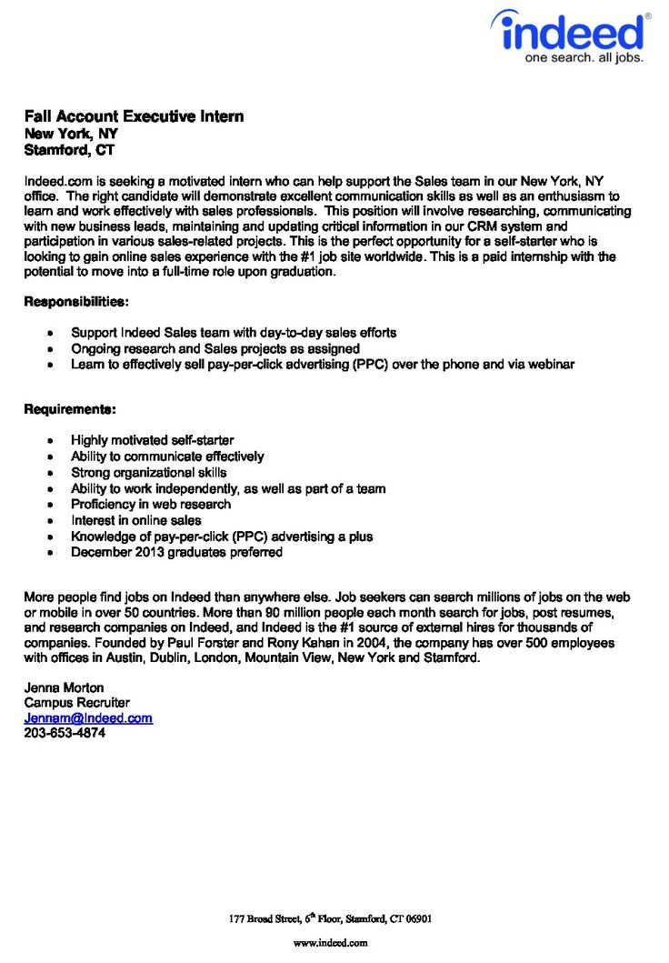 Resume Examples Indeed Resume templates, Resume examples