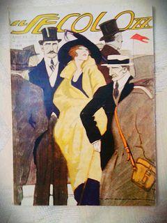 Il Secolo scorso XX, Italia, Autore Cover, MARCELLO DUDOVICH, 1920 | by Riviste d'epoca dal Liberty al Decò