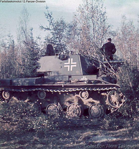 Советские танки в армии Гитлера Уникальные цветные