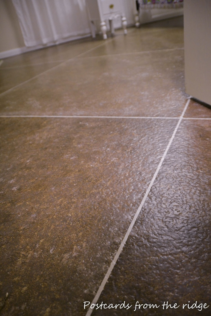 97 best images about how to make concrete floors on for Concrete basement floor