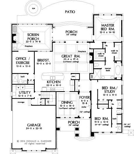 1551 best Floor Plans images on Pinterest | Dream home plans ...