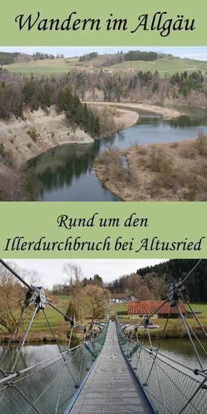 Ideal im Frühling: Wanderung um den Illerdurchbruch bei Altusried
