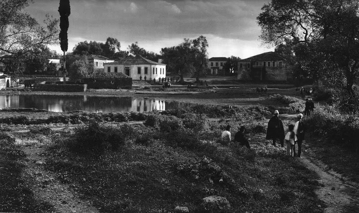Filiates countryside, 1913 by Frederic Boissonnas