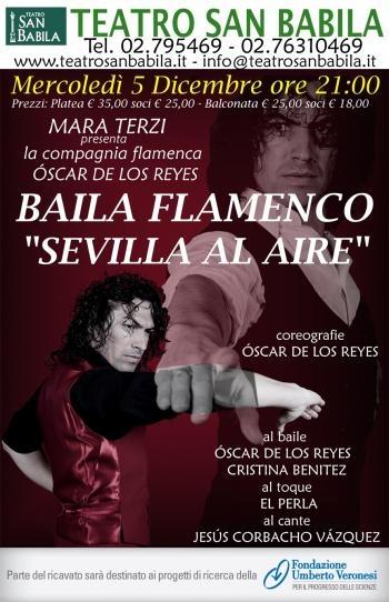 spettacolo di #flamenco a favore della ricerca con un protagonista d'eccezione