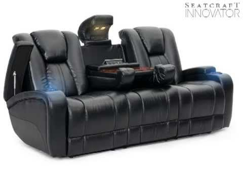 Seatcraft Innovator Fully Loaded Theater Furniture - YouTube