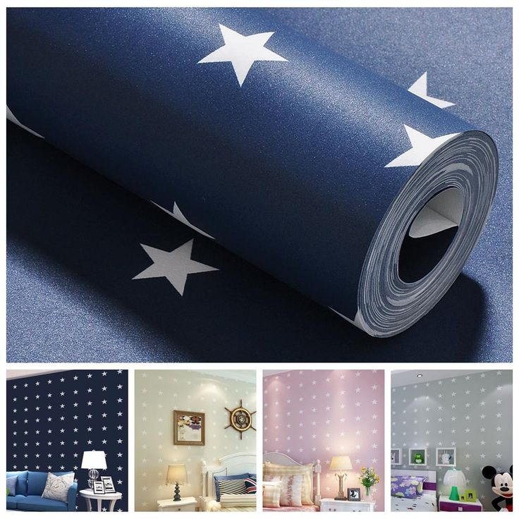 (27.30$)  Watch more here - http://aiiq9.worlditems.win/all/product.php?id=32612473331 - 4 Colors Star Infant Wall Paper Boys Bedroom Wallpaper Girls Livingroom Mediterranean Style Papel de parede infantil