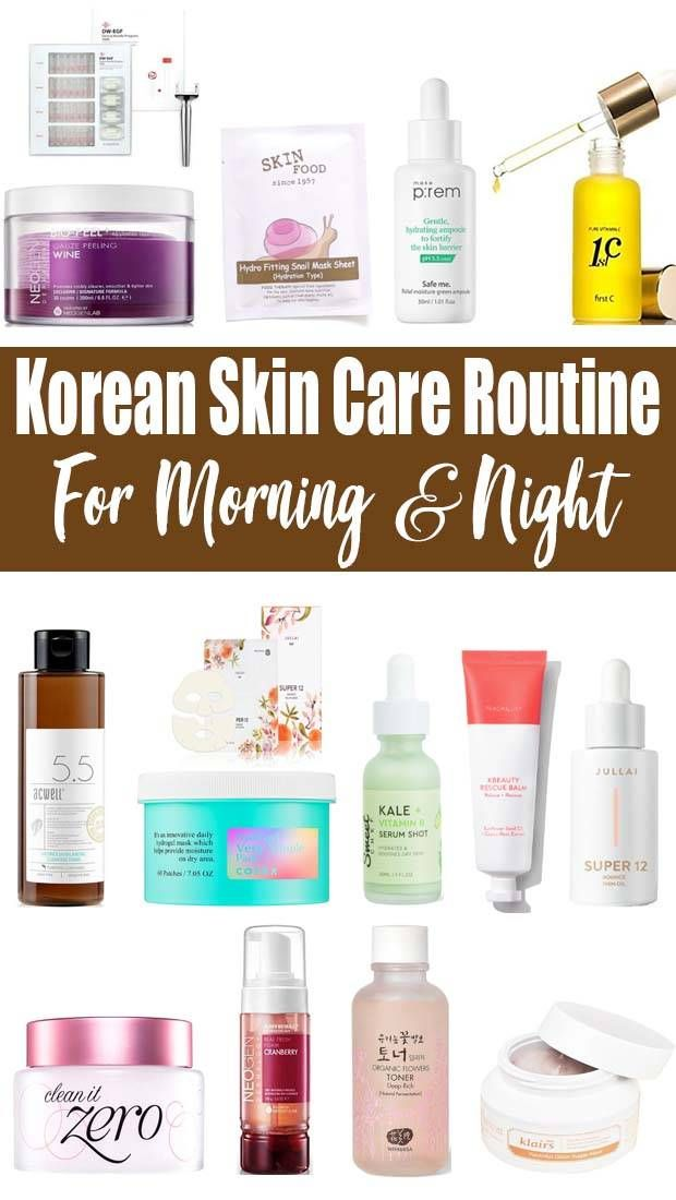 Korean Skin Care Routine For Acne And Oily Skin Remedies In 2020