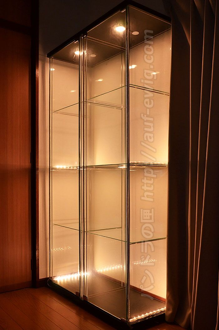 1000 images about display cabinets collections on for Hot toys display case ikea