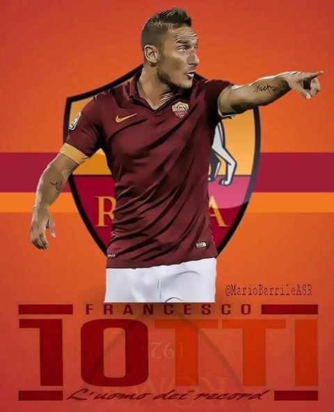 """832 oznaka """"sviđa mi se"""", 1 komentara – Mariolino asr (@mariobarrileasr) na Instagramu: """"Nessun contatto per #totti da #miami, resterà con noi .💛💓👍 #francescototti #capitano #totti #ASRoma…"""""""