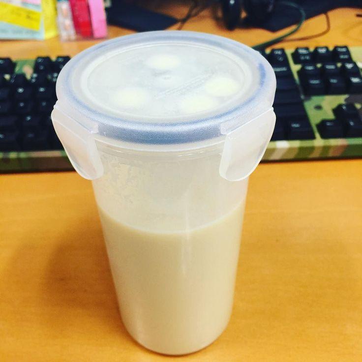 今日の朝ごはん #プロテイン #protein #zavas #糖質制限 #lowcarb #lowsugar #keto #朝ご飯 #breakfast
