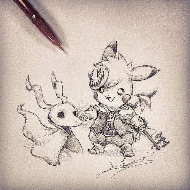 Artist Itsbirdy Kingdom Hearts Sora Pikachu Itsbirdy