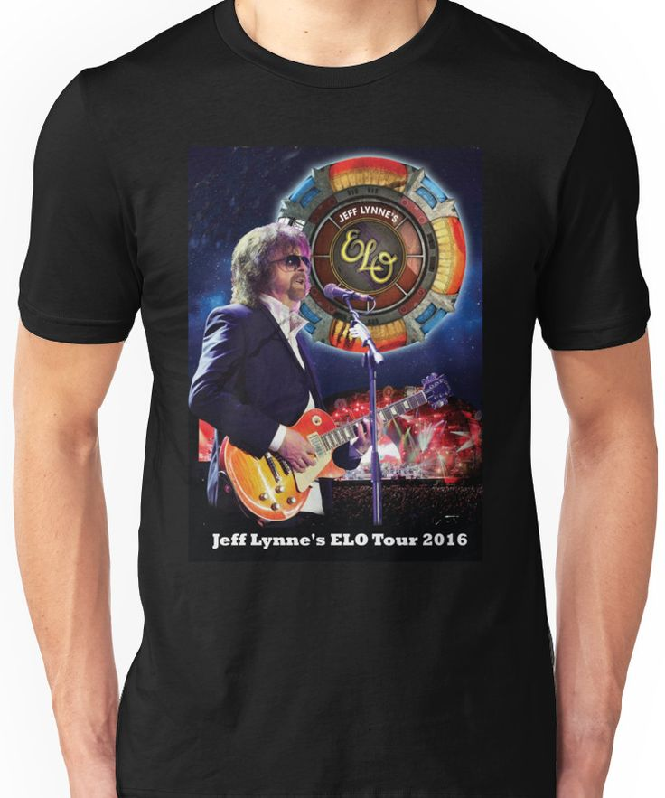 Jeff Lynne'n Elo Tour 2016 Unisex T-Shirt