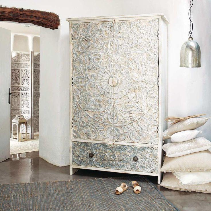 17 meilleures id es propos de armoire maison du monde sur pinterest cheve - Maison du monde armoire ...