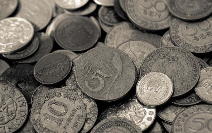 Old Indonesian Coins #2 by Zafara™ on Creative Market