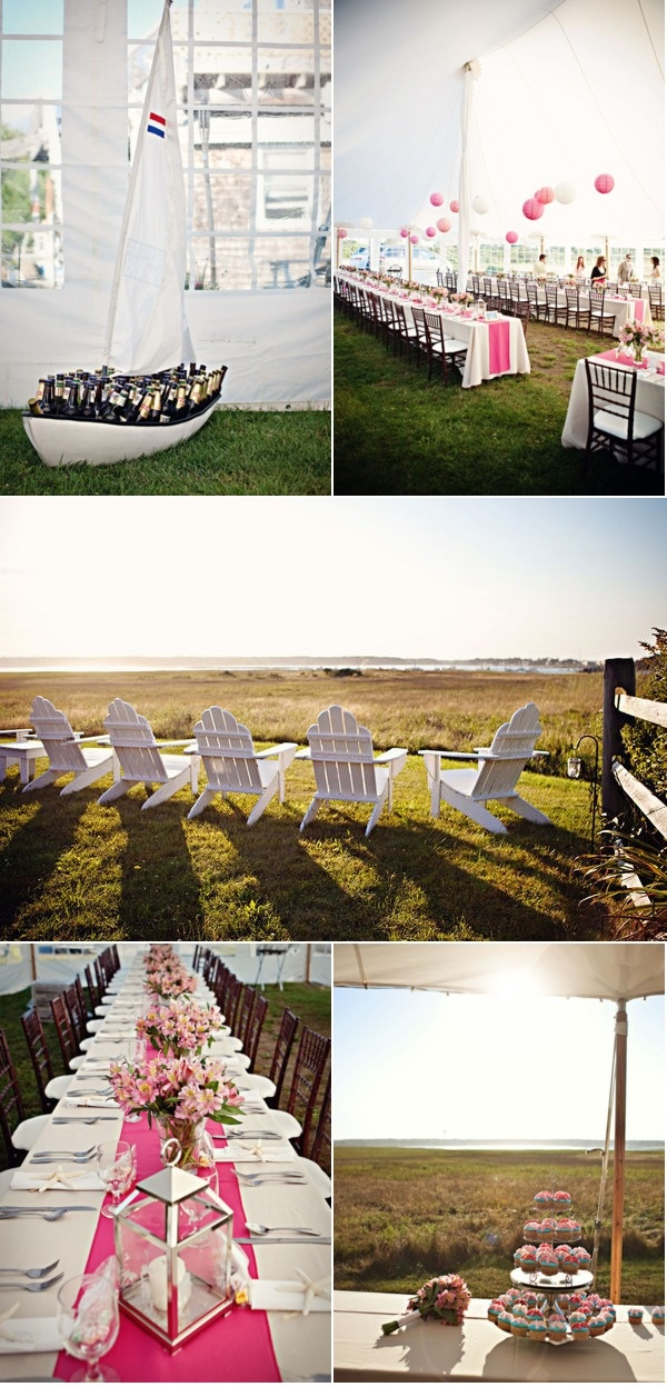 Love this boat-bar! And Adirondack chairs are a definite want! #wedding boat #boatsdotcom