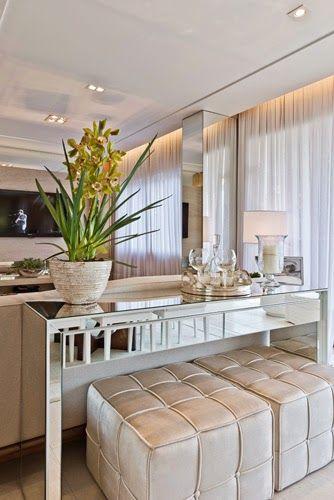 Construindo Minha Casa Clean: Como Decorar Colunas no Meio da Sala? Veja 25 Ideias!