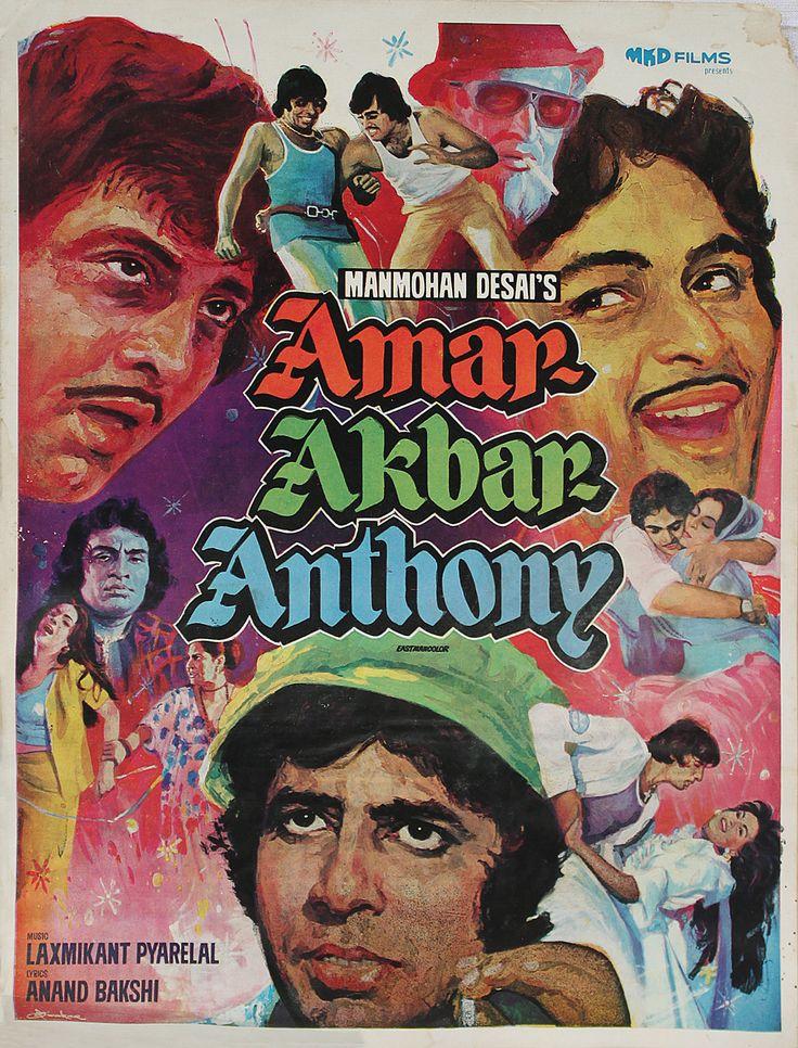 #Amar Akbar Anthony, #Film Synopses, Film Memorabilia, Story Ltd,
