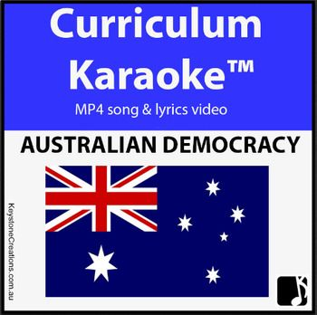 Students READ, SING & LEARN  the meaning of democracy, and develop an appreciation for those who fought for rights and freedoms we enjoy today. *DETAILS & DOWNLOADABLE:  https://www.teacherspayteachers.com/Product/AUSTRALIAN-DEMOCRACY-Curriculum-Karaoke-MP4-Song-Lyrics-Video-3454182