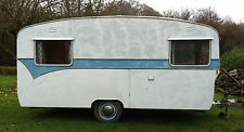 CLASSIC VINTAGE 1963 BAILEY CARAVAN, Lovely Patina, Tows Great, 14ft body, retro