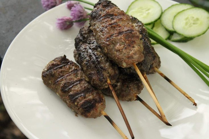 Aromatic, and full of flavour, this Grilled beef kofta kebab recipe packs a delicious punch and ideal for the BBQ. Serve the kofta kebab with rice or salad.