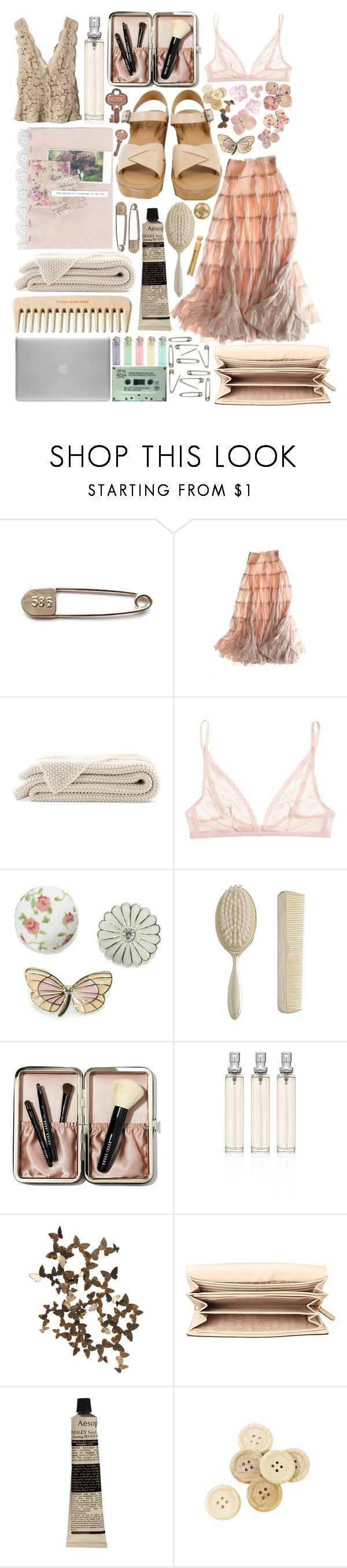 """Would you stay if she promised you heaven?"" by hougach ❤ liked on Polyvore featuring Kork-Ease, Calypso St. Barth, STELLA McCARTNEY, Calvin Klein Underwear, Monsoon, Zara, Bobbi Brown Cosmetics, Alchemy Collection, MICHAEL Michael Kors and Aesop"