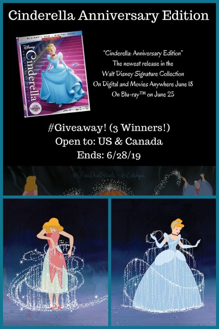 Cinderella Anniversary Edition 2019 Release Giveaway! (3