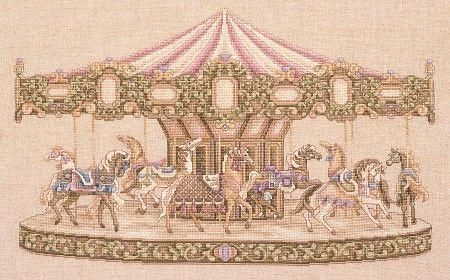"Teresa Wentzler ""Carousel""Crosses Stitches Embroidery, Carvings Hors, Carousels Carousels, Carousels Hors, Teresa Wentzler, Carousels Spirit, Counting Crosses, Wentzler Carousels, Crosses Stitchembroideri"