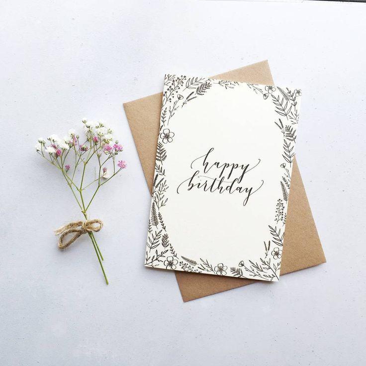 Sind Sie an unserem Geburtstag interessiert?    – Kalligrafie