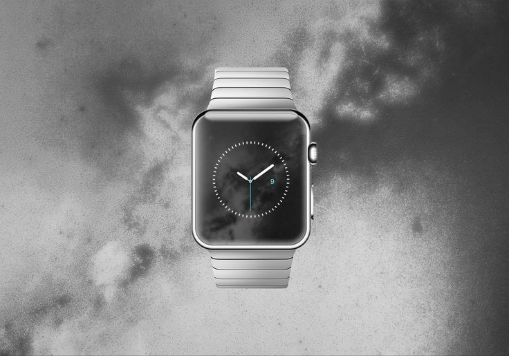 Space Effect wallpaper designed for  Watch