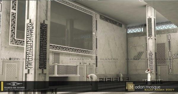 Modon Mosque by HAMED BN HAMRI , via Behance