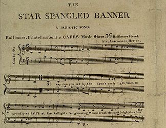 The Star-Spangled Banner - interactive study including quizzes and in-depth explanation of the flag restoration