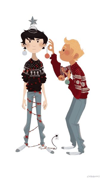 How solangelo celebrates Christmas