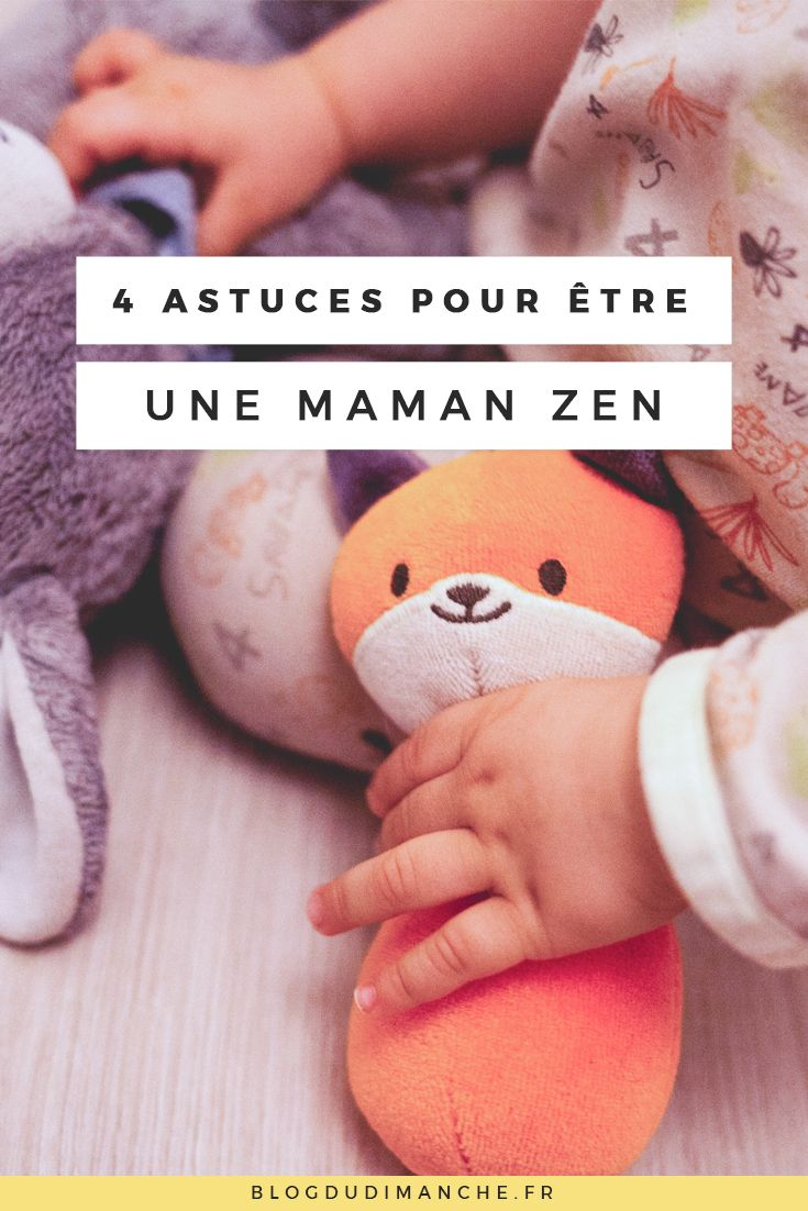 Si vous sentez que vous avez du mal à rester zen dans votre rôle de parent, cet article pourrait vous aider ! :)
