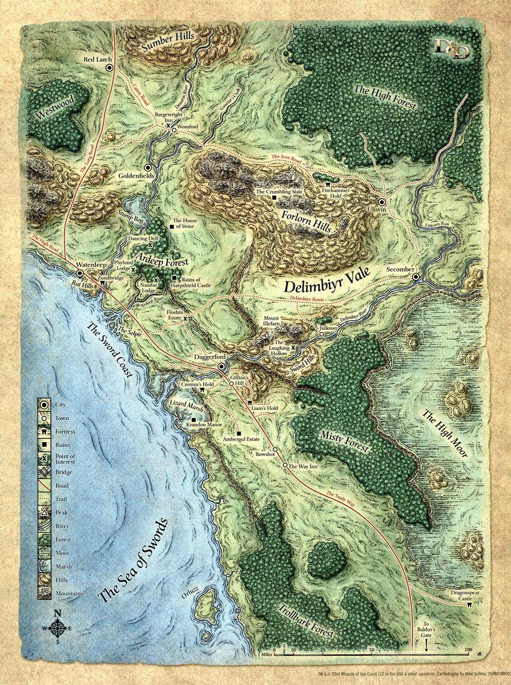 The Sword Coast 105 best Fantasy World