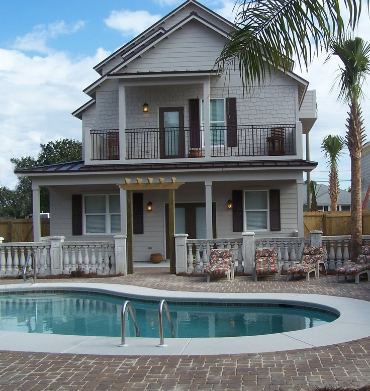 Destin Fl Beach House With Private Pool