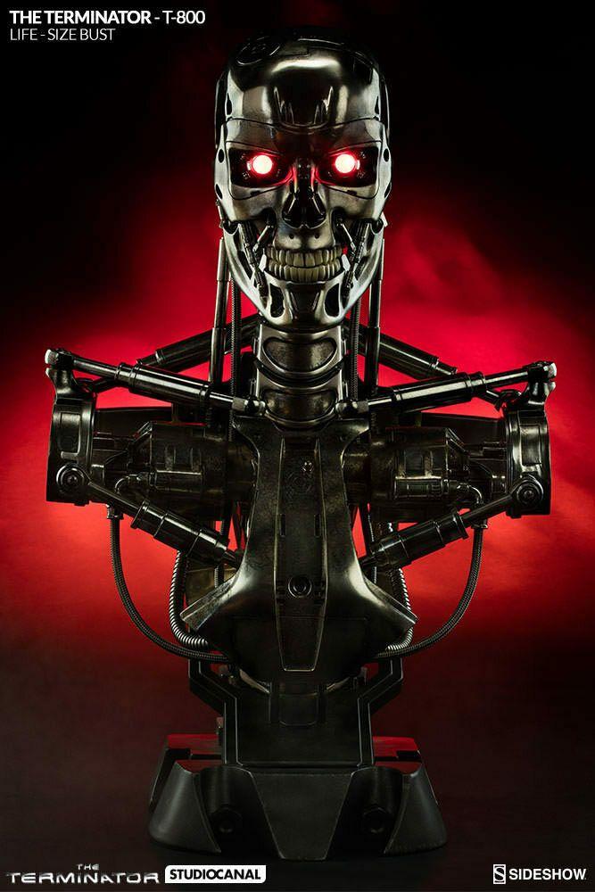 Details About Terminator 3 T X End Skeleton Mini Bust Filmes