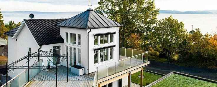 Ett hus med sjö utsikt, #newengland #arkitektritat #willanordic